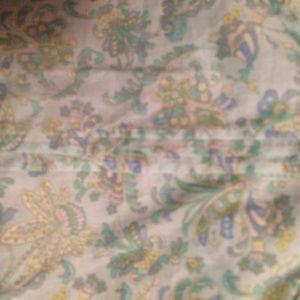 Ann Taylor Tops - ANN TAYLOR Petites PAISLEY Light teal green top
